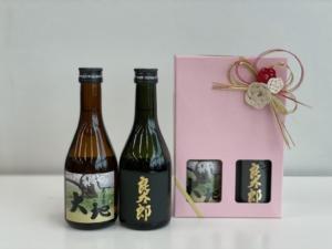 300㎖ ミニボトルセット(大地25度・良太郎原酒37度)